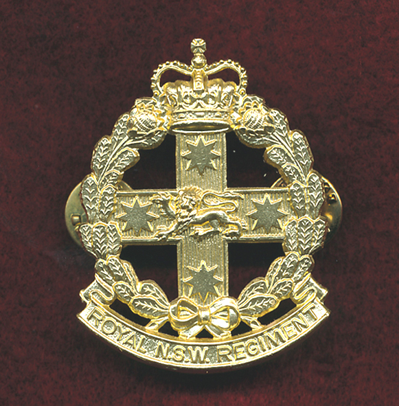 RNSWR Hat Badge  (60/85)