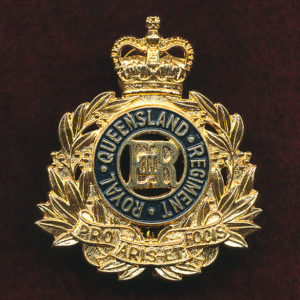RQR Hat Badge (ca96)