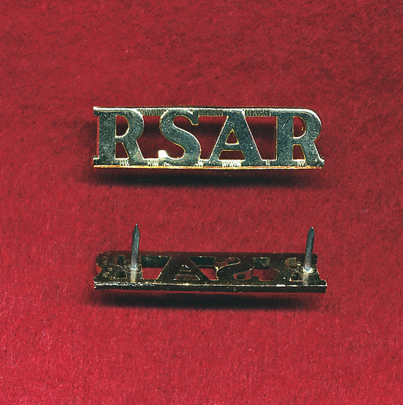 RSAR Shoulder Title (x1)