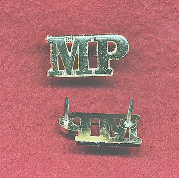 Shoulder Title - MP (x1) (A/A)