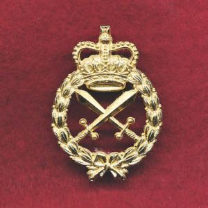 "Hat Badge - MP  (post 97) ""Briteshine"""