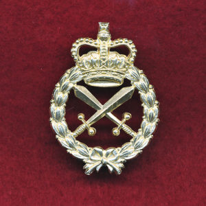 Hat Badge - MP (60/85)  (A/A)