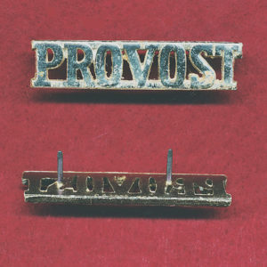 Shoulder Title - MP / PROVOST  (x1)  (A/A)