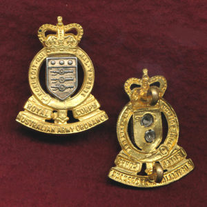 Collar Badge - RAAOC  (53/60)