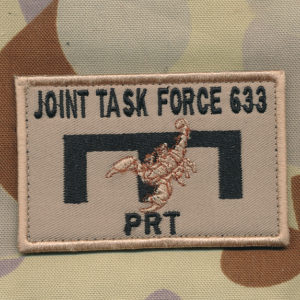Afghanistan - JTF 633  Engineers  PRT