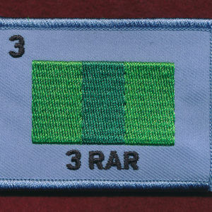 3rd Battalion, The Royal Australian Regiment (3 RAR) Replicated