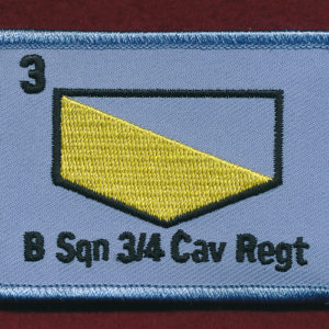 3rd/4th Cavalry Regiment - B Squadron  Replicated