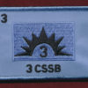 3rd Combat Service Support Battalion (3 CSSB) Replicated