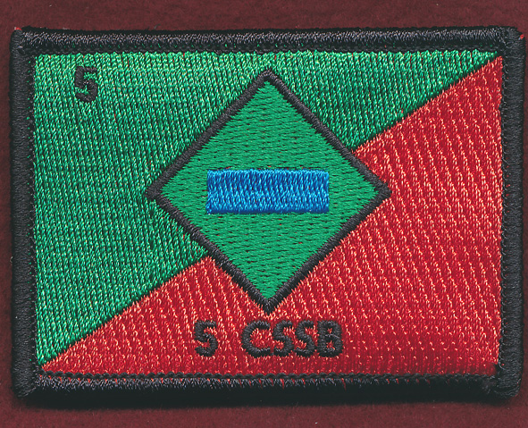 5th Combat Services Support Battalion (5 CSSB) Replicated