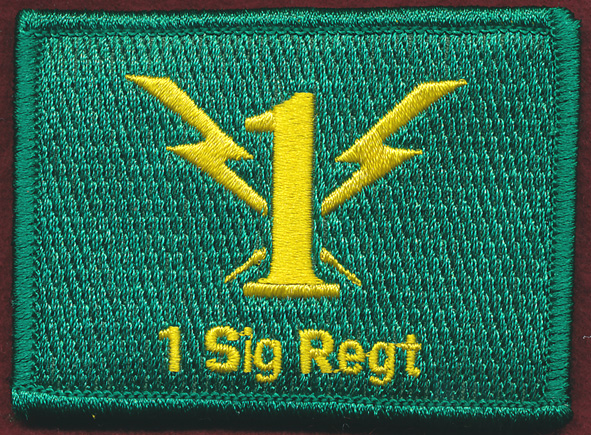 1 Sig Regt Replicated