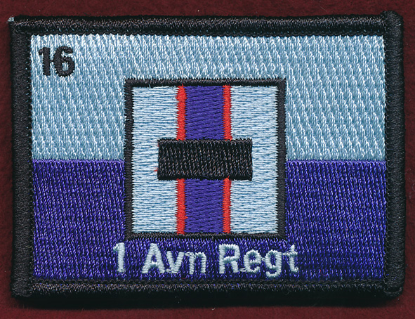 1 Aviation Regt. Replicated