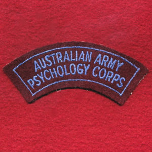 Shoulder Title - Psychology Corps (B)