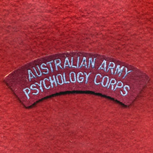 Shoulder Title - Psychology Corps (U/B)