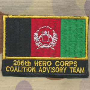 Afghanistan  205th HERO CORPS  CAT