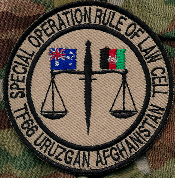 Afghanistan -  TF - 66 SOTG  Rule of Law Cell