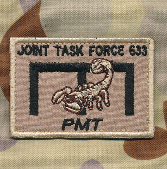 Afghanistan - JTF 633  Engineers