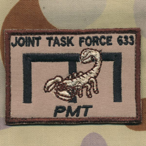 Afghanistan - JTF 633  Engineers  PMT