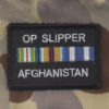 Afghanistan  OP SLIPPER   (Memento patch)