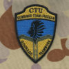 Afghanistan  CTU Coloured Patch