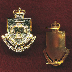 QUR - Collar Badge (x1) (post 1997)