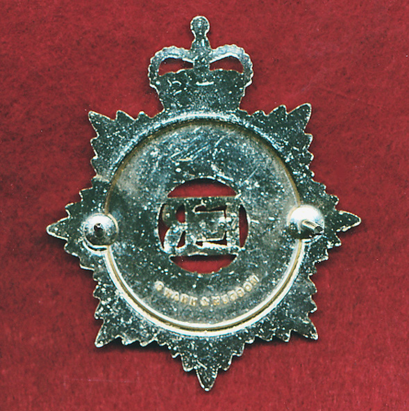Hat Badge - RAASC - ORs - (A/A) (60/85)