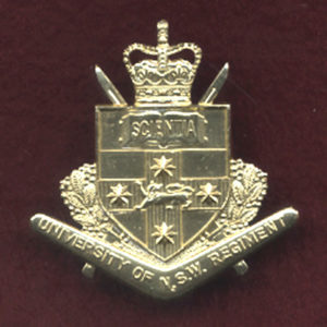 UNSWR - Hat Badge  (A/A)