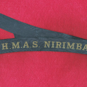 HMAS NIRIMBA Tally Band