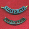 AUSTRALIA Shoulder Title (55mm)  (Oxy)