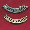 AUSTRALIA Shoulder Title (Gilt) (55mm)