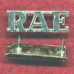 Shoulder Title - RAE  (A/A) )