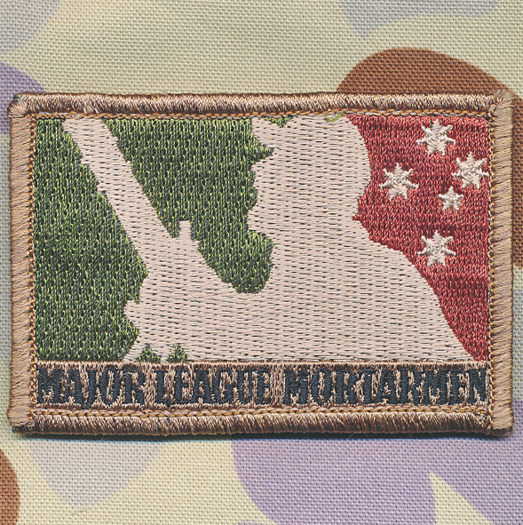 MAJOR LEAGUE MORTARMAN (Subdued)
