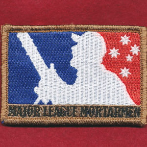 MAJOR LEAGUE MORTARMAN (Coloured)