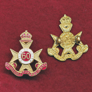 60 INF BN Collar Badge (30/42)