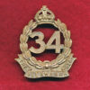 34 INF BN  Hat Badge (Illawarra)  (30/42)