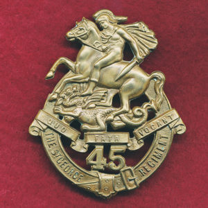 45 INF BN Hat Badge (30/42)