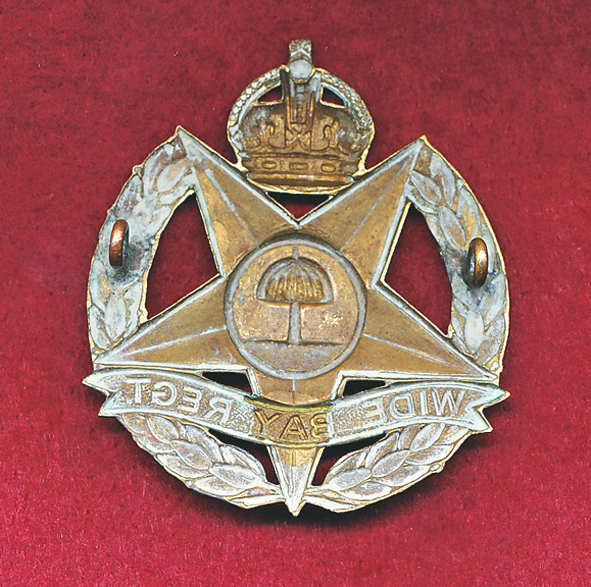47 INF BN Hat Badge  (30/42)  (#2)