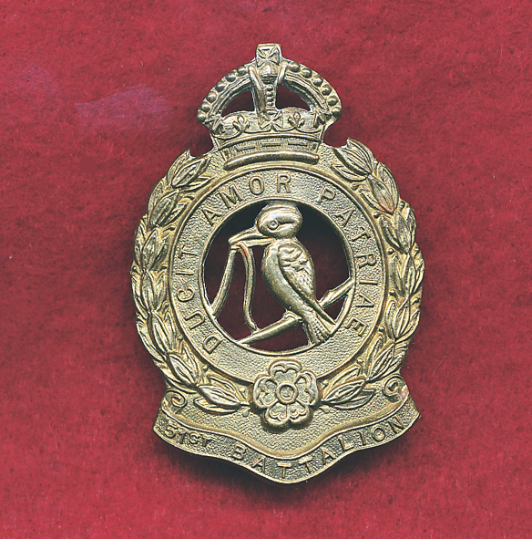 51 INF BN  (FNQR) - Hat Badge  (30/42)