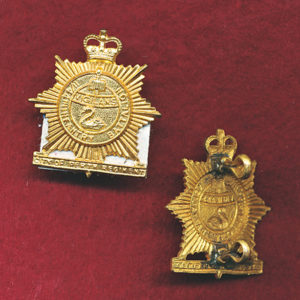 11/44 INF BN Collar Badge (w/L)  (53-60)