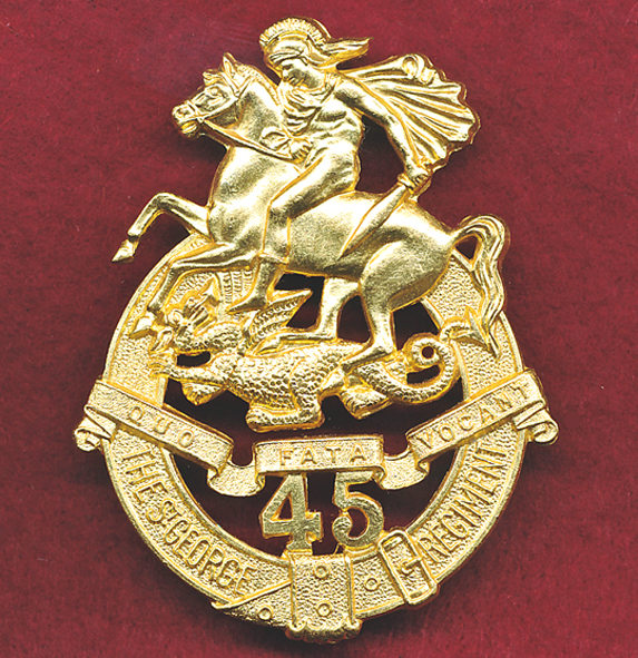 45 INF BN Hat Badge (53/60)