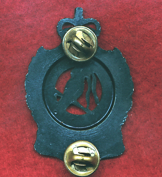 51st BN (FNQR)  Hat Badge (Staybrite Period)
