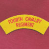 4 CAV REGT -  Embroidered Title  (u/b)