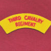3 CAV REGT -  Embroidered title  (67/84)