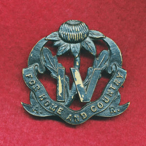 4 INF BN Hat Badge (30/42)