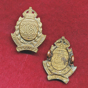 18 INF BN Collar Badge   (30/42)