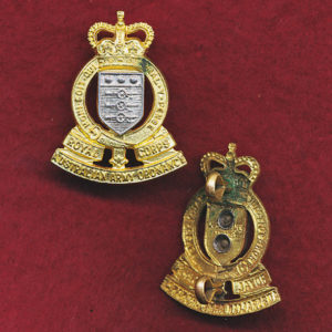 Collar Badge - RAAOC (53/60) (w/L)