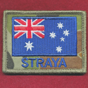 "Australian National Flag DPCU  ""STRAYA"""