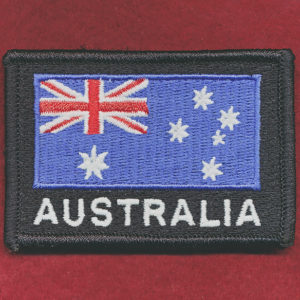 Australian National Flag (Black)