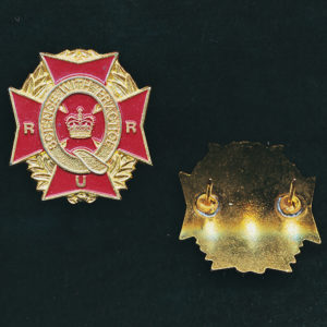 RURQ - Collar Badge