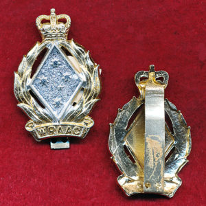 Cap badge  (60/85) - WRAAC