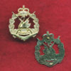 RWAR  Collar Badge (post 60) (w/L)